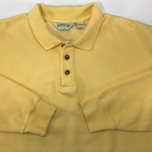 Orvis Shirts - ORVIS 3 Button Long Sleeve Pullover Sweater